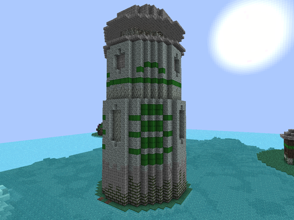 Minecraft Schematics - sc-vampcal97-lighthouse